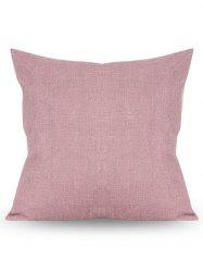 Square Solid Color Linen Pillow Case