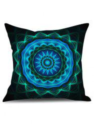 Starry Sky Flower Print Pillow Case