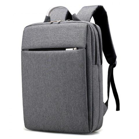 Sale Top Handle Mesh Padded Strap Backpack - GRAY  Mobile