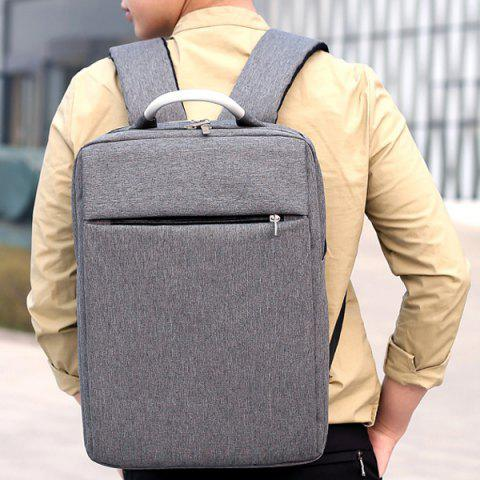 Buy Top Handle Mesh Padded Strap Backpack - GRAY  Mobile