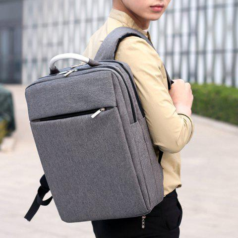 Cheap Top Handle Mesh Padded Strap Backpack - GRAY  Mobile