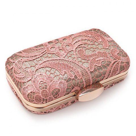 Shops Lace Cover Evening Clutch Bag