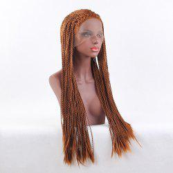 Lace Front Long Senegalese Twist Braid Synthetic Wig