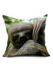 Sloth Cushion Cover Throw Pillow Case