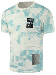Graphic Print Tie Dye T-Shirt