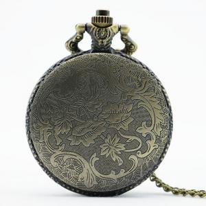 Eagle Engraved Number Vintage Pocket Watch -