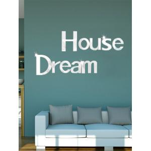 Creative Dream House 3D Environmental DIY Mirror Wall Sticker