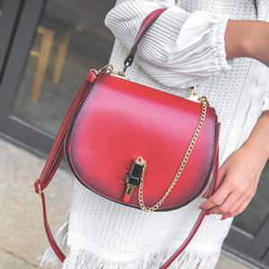 Lipstick Chains Saddle Bag -