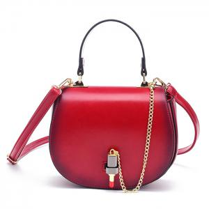 Lipstick Chains Saddle Bag