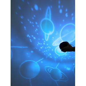 Space Scene Planetary Rotating Projection Lamp -