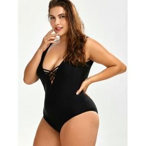 Plus Size Backless Swimwear -