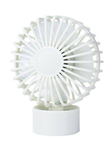 Portable Mini Cooler super Mute Bureau Ventilateur Blanc