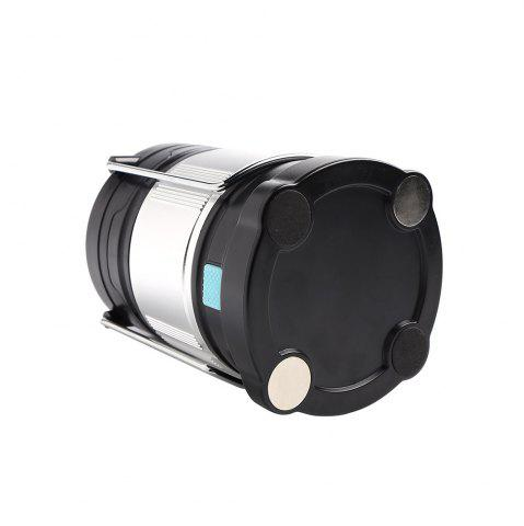 Best 4 Modes Collapsible Rechargeable LED Camping Lantern - SILVER AND BLACK  Mobile