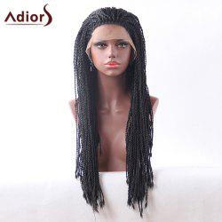 Adiors Lace Front Long Twist Braids Synthetic Wig