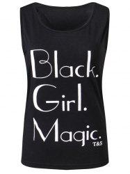 Black Girl Magic Graphic Tank Top
