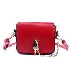 Chain Lipstick Cross Body Bag
