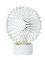 Portable Mini Cooler super Mute Bureau Ventilateur - Blanc