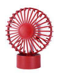Portable Mini Cooler super Mute Bureau Ventilateur - Rouge