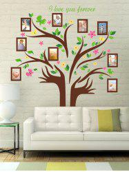 Photo Frame Colorful Tree Wall Sticker