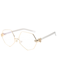 Irregular Geometrical Artificial Pearl Nose Pad Sunglasses