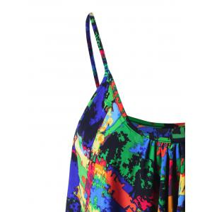 Layered Graphic Tank Top - COLORMIX M