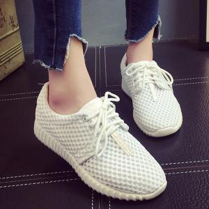 Breathable Mesh Athletic Shoes -