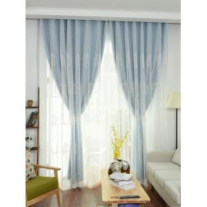 Window Screen 1Pcs 2 Layers Princess Curtain -
