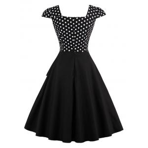 Polka Dot Vintage Dress -