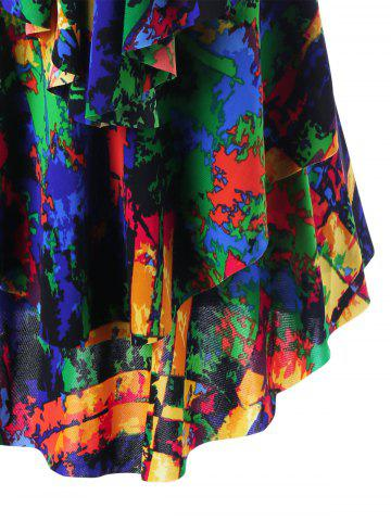Online Layered Graphic Tank Top - 2XL COLORMIX Mobile