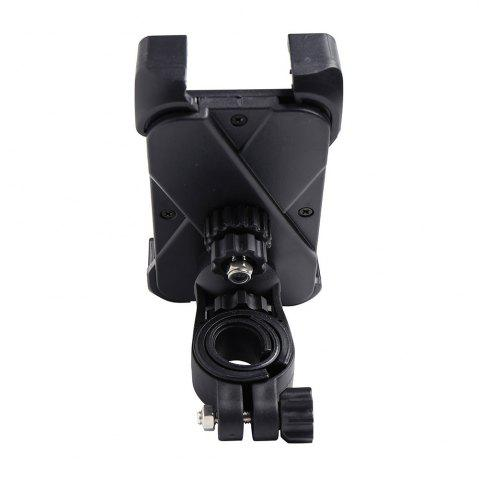 New 360 Degree Rotation Mobile Phone Holder Stand for Cycling - BLACK  Mobile