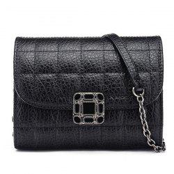 Chains Quilted Cross Body Bag -