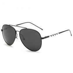 Mirrored Polarized UV Protection Pilot Sunglasses