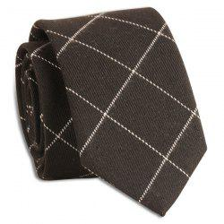 Checked Wrinkle Resistant Neck Tie