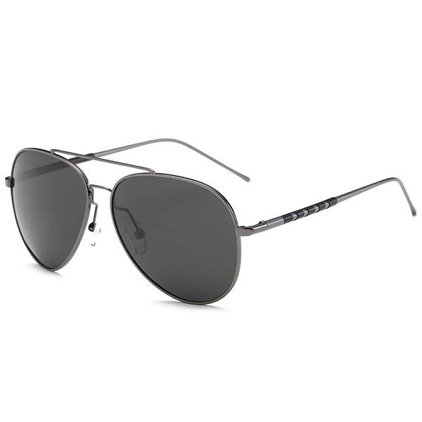 Mirrored Polarized UV Protection Pilot SunglassesACCESSORIES<br><br>Color: GUN GREY FRAME+GREY LENS; Group: Adult; Gender: For Men; Style: Fashion; Lens material: Resin; Frame material: Alloy; Frame Color: Multi-color; Lens height: 5.5CM; Lens width: 6.0CM; Temple Length: 13.8CM; Nose: 1.9CM; Frame Length: 14.1CM; Weight: 0.0300kg; Package Contents: 1 x Sunglasses;