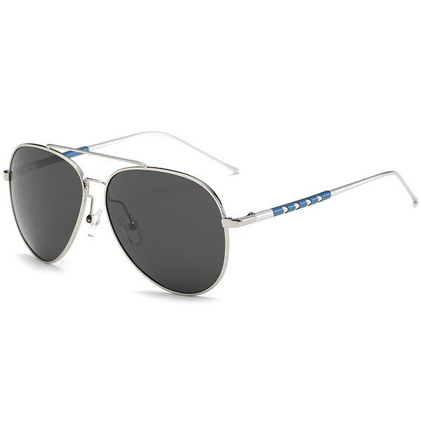 Outfit Mirrored Polarized UV Protection Pilot Sunglasses