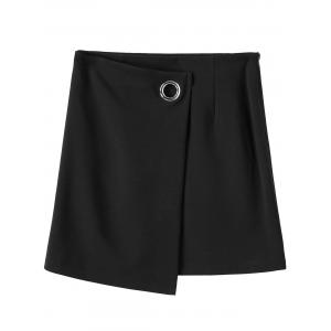 Mini Plus Size Zippered Skirt