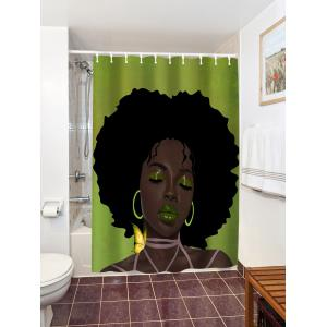 Colormix 150 180cm Afro Hair Lady Immersed In Her Own