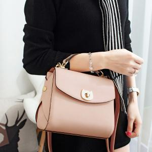 Metal Detail Cross Body Handbag -