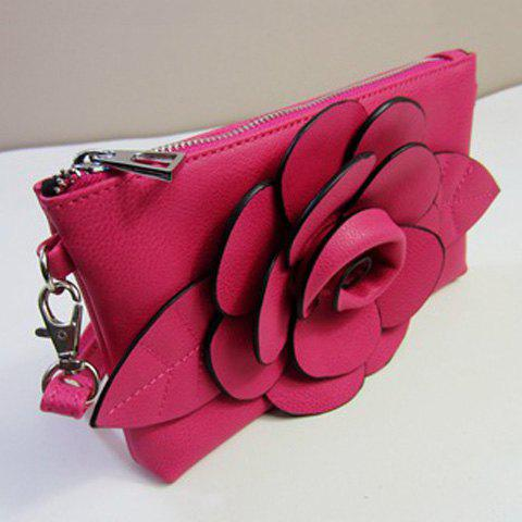 Fancy Cross Body Flower Wristlet Bag - TUTTI FRUTTI  Mobile