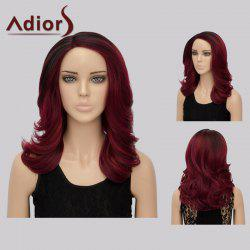 Adiors Long Side Part Tail Upwards Colormix Synthetic Wig