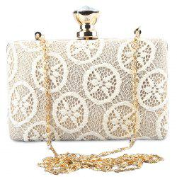 Lace Rhinestone Evening Clutch Bag