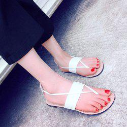 Leisure Slip-On and Flat Heel Design Sandals For Women