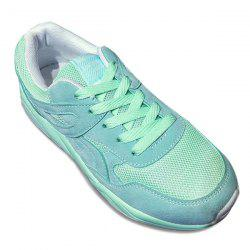 Breathable Mesh Athletic Shoes - LIGHT GREEN