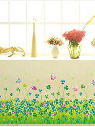 Butterfly Clover Wall Sticker for Nursery