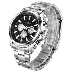 OUKESHI Steel Band Wrist Quartz Watch