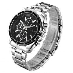 OUKESHI Alloy Strap Quartz Watch