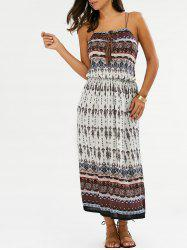 Printed Bohemian Slip Dress