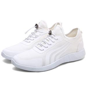 String Stretch Fabric Athletic Shoes -