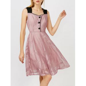 Robe de cocktail Swing Formal Swing - ROSE PÂLE 2XL