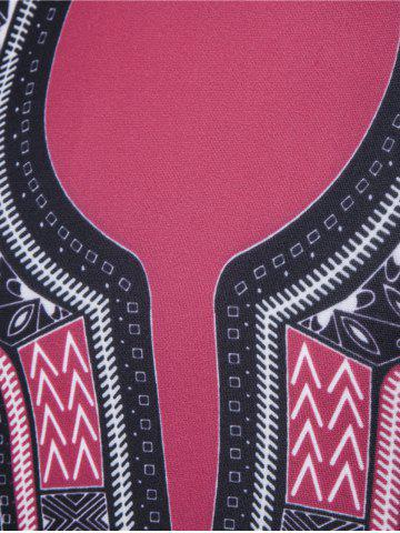 Outfits Long Sleeve Tribal Printed Graphic Vintage Sweatshirts - L BLACK Mobile